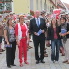 Eröffnung mit Dr. Sabine Heilig, Uschi Finck, OB Hermann Faul, Andrea Kugler und Susanne Vierkorn
