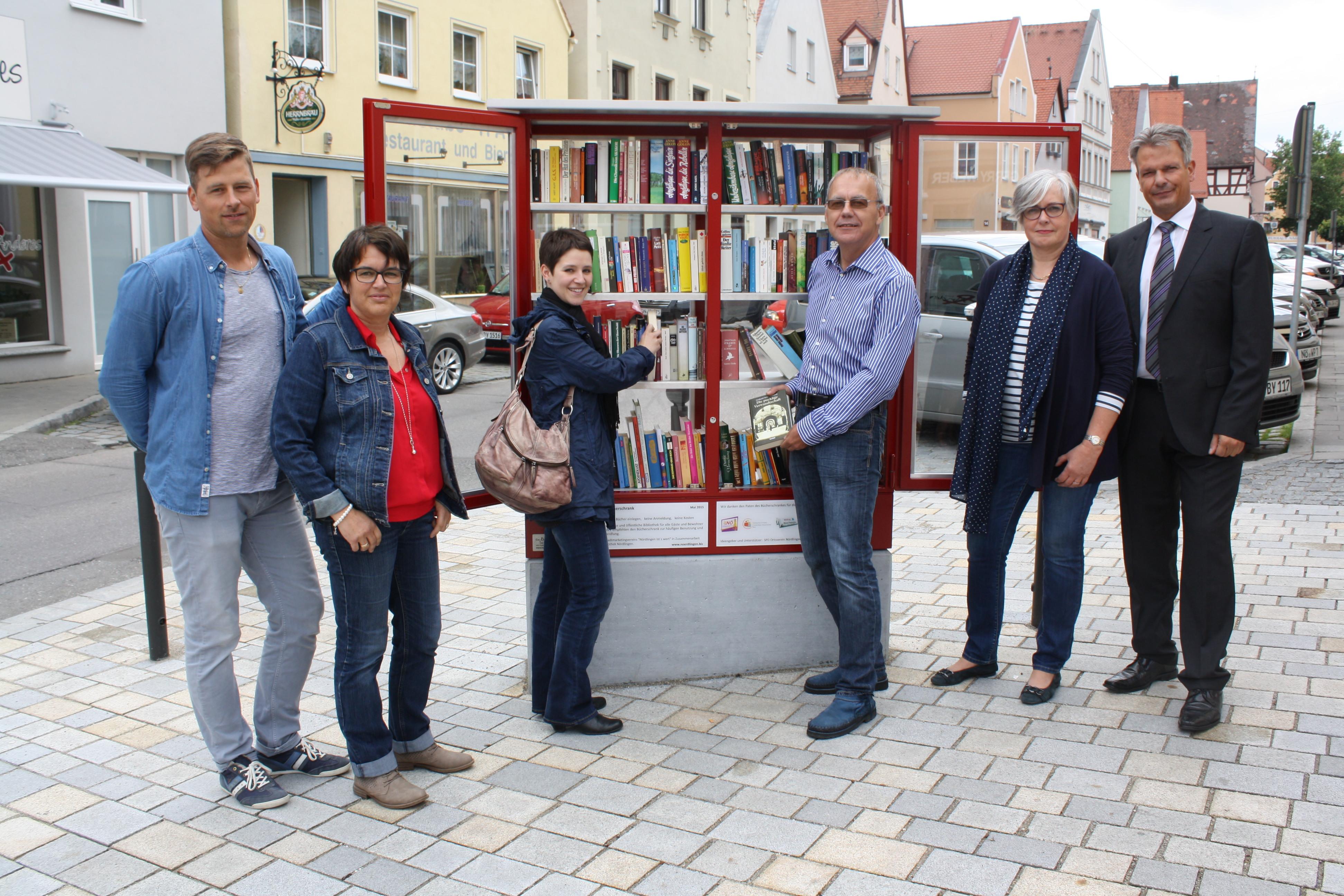 Parick Behringer, Susanne Vierkorn, Kathrin Häffner, Karl Schaffer, Astrid Grunert und Sandro Weber