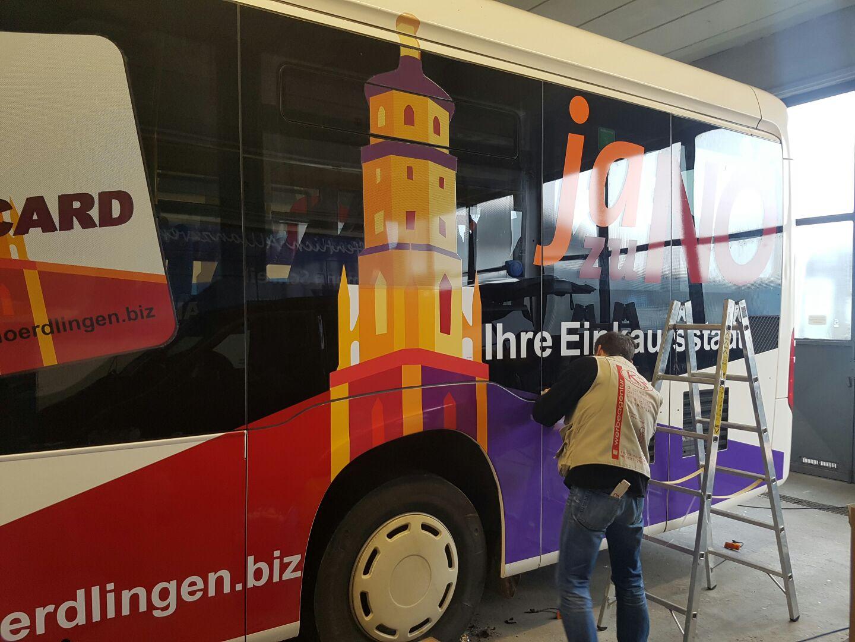 Projekt: Schwarzer-Linienbus | Stadtmarketingverein