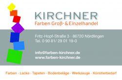Logo Kirchner Farben Groß- und Einzelhandel