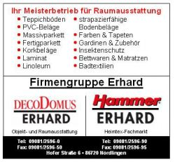 Logo Hammer-Heimtex-Fachmarkt Erhard