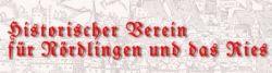Logo Historischer Verein für Nördlingen und das Ries