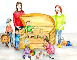 Logo Krümelkiste Kinderbetreuung