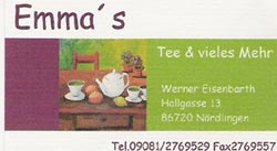 Logo Emmas Tee & vieles Mehr