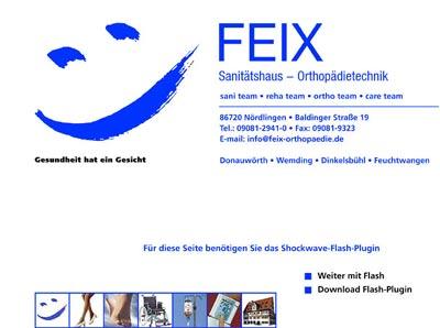 Bild1 Sanitätshaus FEIX Orthopädietechnik