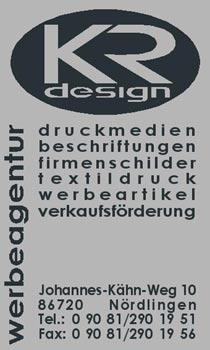 Logo KR-design Werbeagentur