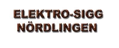 Logo Elektro SIGG GmbH & Co. KG
