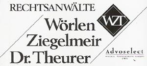 Logo Wörlen, Ziegelmeir, Dr. Theurer Rechtsanwälte